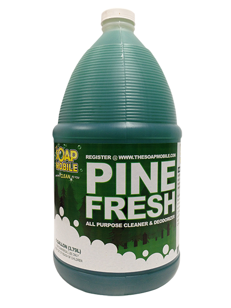 pine scent cleanser