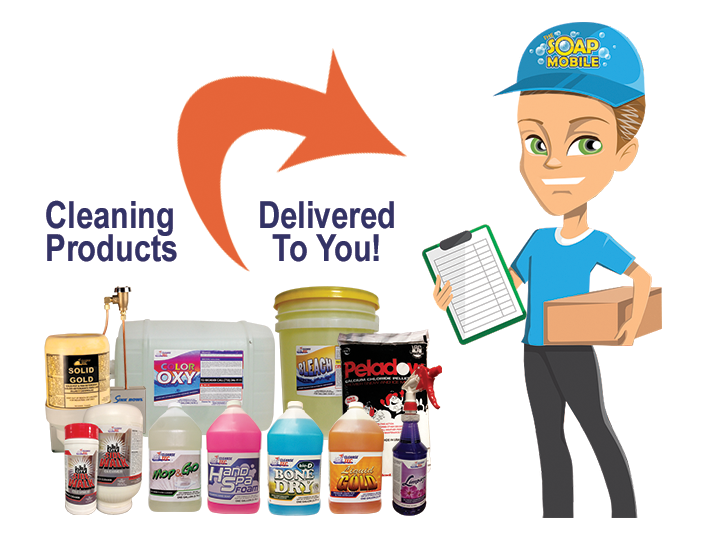 cleaning products delivered to you